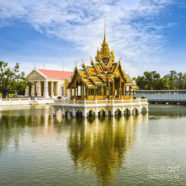 Bang Photograph - Bang Pa In Palace Thailand by Colin and Linda McKie