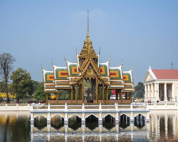 Photograph - Bang Pa-in Royal Palace Phra Thinang Aisawan-dhipaya-asana Dtha0094 by Gerry Gantt