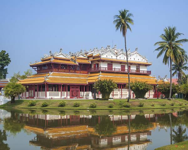 Photograph - Bang Pa-in Royal Palace Phra Thinang Wehart Chamrun Dtha0100 by Gerry Gantt