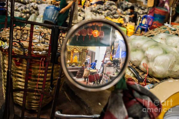 Wall Art - Photograph - Bangkok Market Scene I by Dean Harte