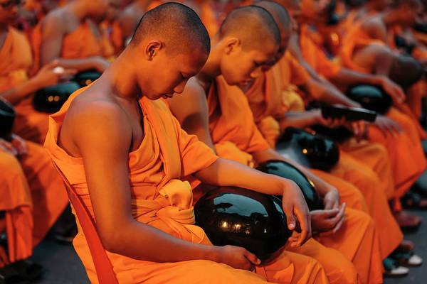 Shaved Head Photograph - Bangkok, Thailand by Gavin Gough