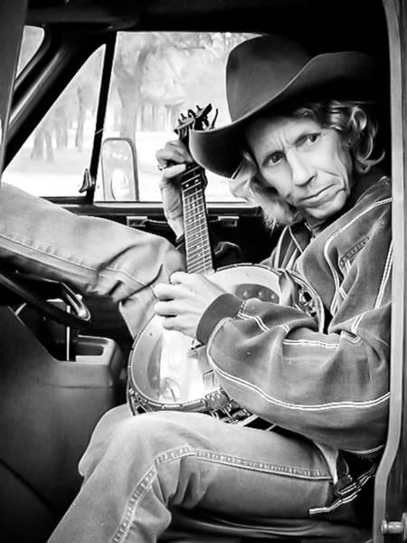 Photograph - Banjo Man by Darryl Dalton
