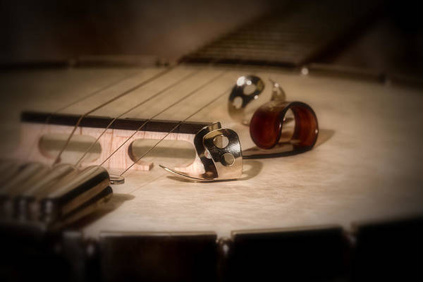 Pick Photograph - Banjo by Tom Mc Nemar