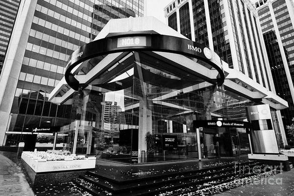 Financial Centre Photograph - bank of montreal bentall centre financial district downtown Vancouver BC Canada by Joe Fox