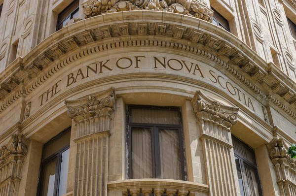 Photograph - Bank Of Nova Scotia Building In Havana Cuba by Rob Huntley