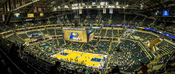 Photograph - Bankers Life Fieldhouse - Home Of The Indiana Pacers by Ron Pate