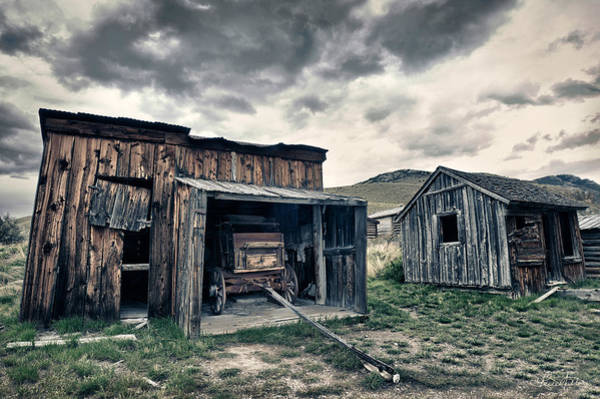 Photograph - Bannack Carriage House by Renee Sullivan