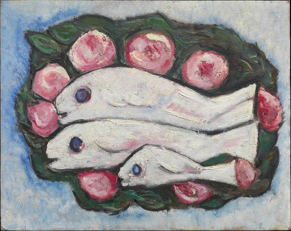 Central America Painting - Banquet In Silence by Marsden Hartley
