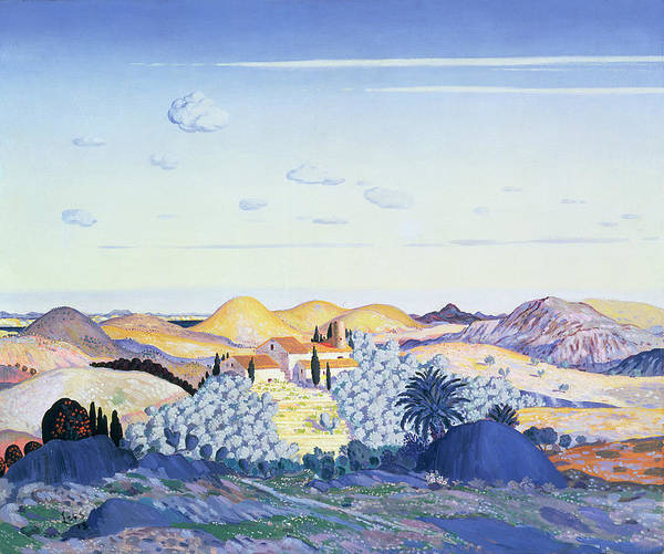 Pyrenees Painting - Banyuls, 1913 by Derwent Lees