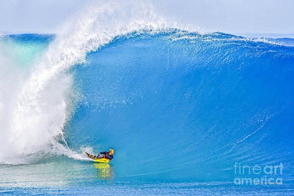 Wall Art - Photograph - Banzai Pipeline The Perfect Wave by Aloha Art