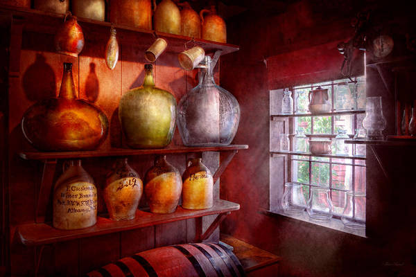 Wall Art - Photograph - Bar - Bottles - Check Out These Big Jugs  by Mike Savad