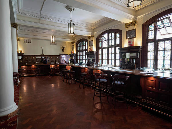 Johannesburg Wall Art - Photograph - Bar Of The Rand Club, Loveday Street by Panoramic Images