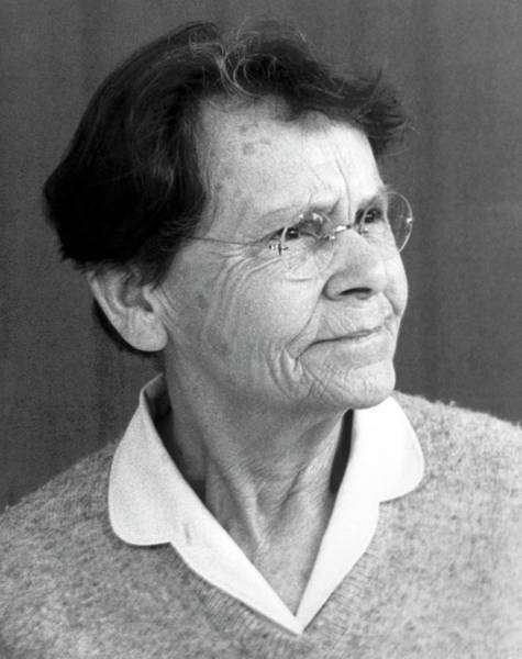 Nobel Prize Winners Wall Art - Photograph - Barbara Mcclintock by American Philosophical Society