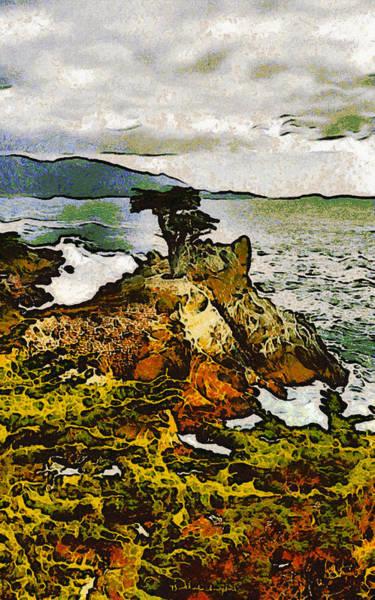Cypress Digital Art - Barbara Snyder by Lone Cyress