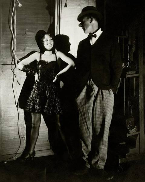Burlesque Dancer Photograph - Barbara Stanwyck And Hal Skelly In Costume by Edward Steichen