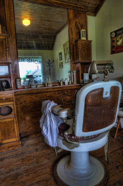 Hairdresser Wall Art - Photograph - Barber - Time For A Cut II by Lee Dos Santos