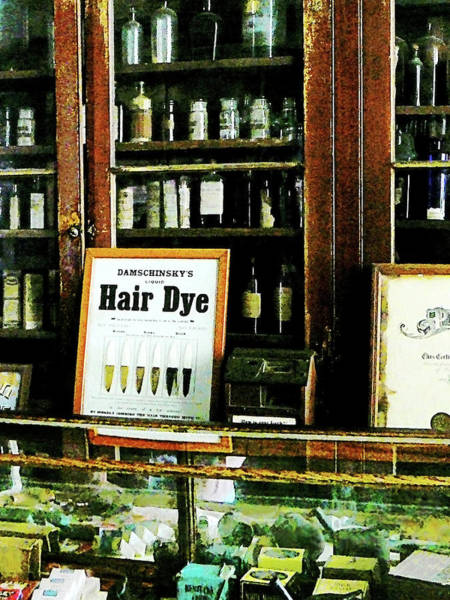 Photograph - Barber - Hair Dye by Susan Savad