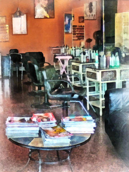 Photograph - Barber - Hair Salon by Susan Savad