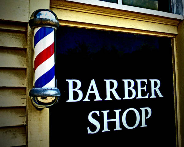 Photograph - Barber Shop by Dave Bosse