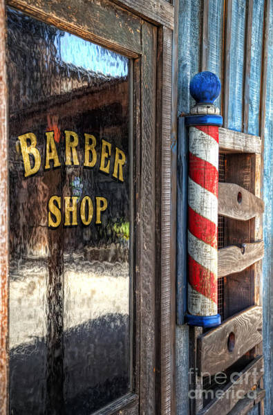 Photograph - Barber Shop by Eddie Yerkish