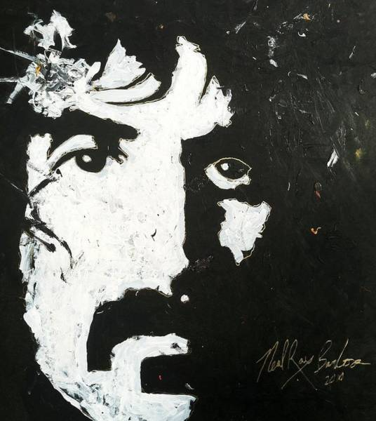 Painting - Barbosa Paints Zappa by Neal Barbosa