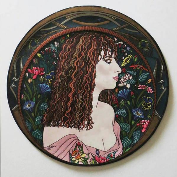 Barbra's Garden Art Print