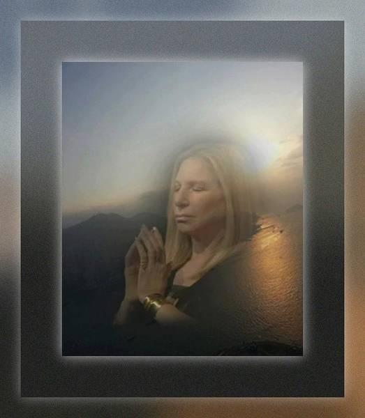 Digital Art - Barbra's Prayers by Richard Laeton