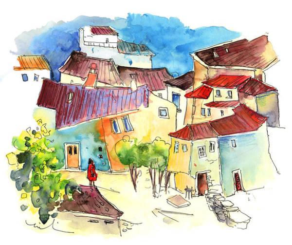Painting - Barca De Alva Houses 02 by Miki De Goodaboom