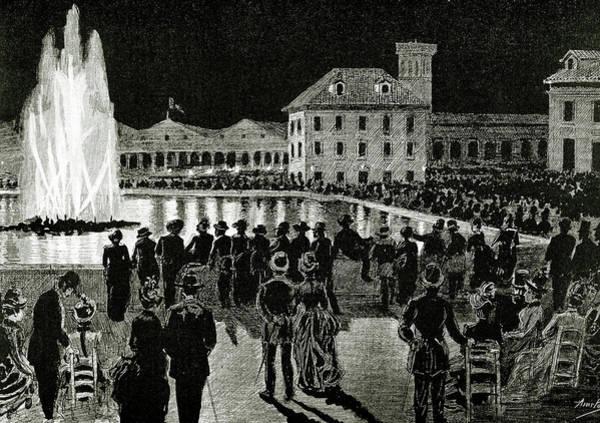 1888 Photograph - Barcelona 1888 World's Fair 'magic by Prisma Archivo