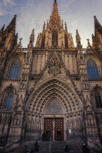 Photograph - Barcelona Cathedral by Joan Carroll
