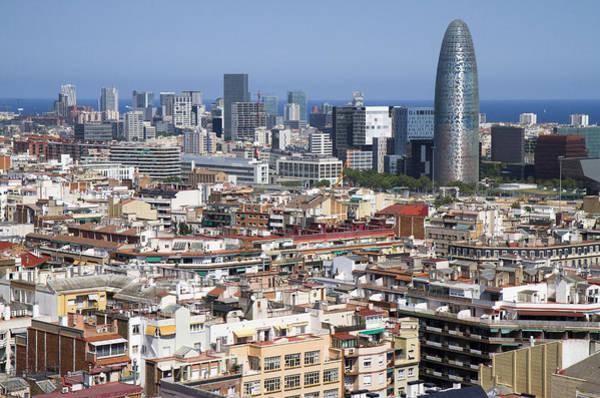 Photograph - Barcelona Cityscape by Nathan Rupert