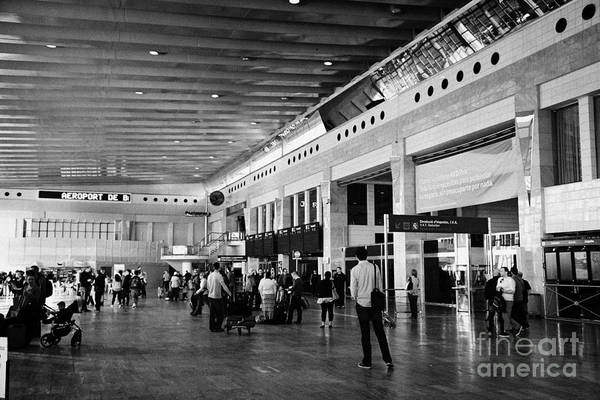 Prat Photograph - Barcelona El Prat Airport Terminal 2 Catalonia Spain by Joe Fox