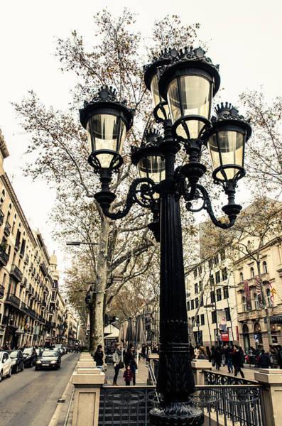 Barcelona - La Rambla Art Print
