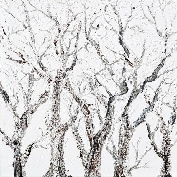 Painting - Bare Branches by Regina Valluzzi