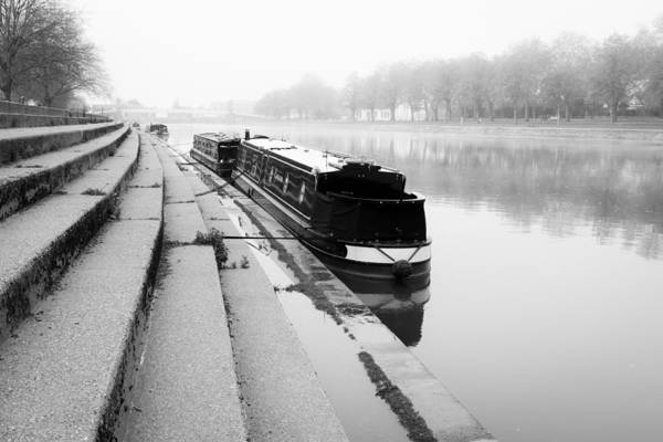 Narrow Boat Wall Art - Photograph - Trent by Chris Dale