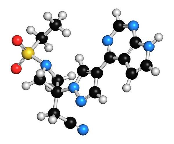 Pharma Wall Art - Photograph - Baricitinib Janus Kinase Inhibitor Drug by Molekuul