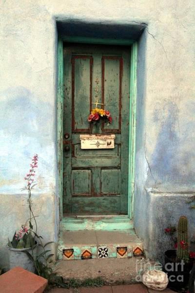 Tucson Photograph - Doors Bario Tucson by Diane Greco-Lesser