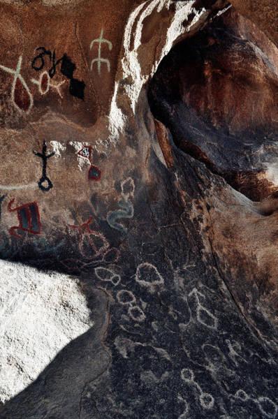 Photograph - Barker Dam Petroglyphs Light by Kyle Hanson