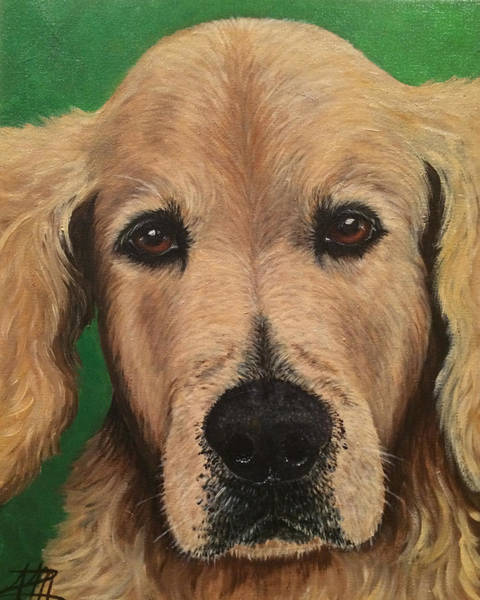 Painting - Barkley by Ana Marusich-Zanor