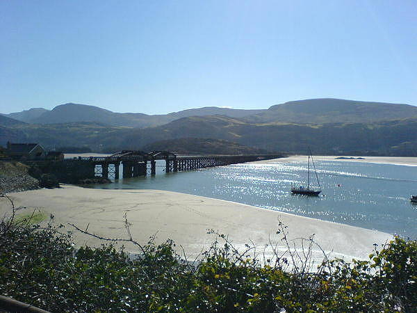 Photograph - Barmouth Bay by Sarah Broadmeadow-Thomas