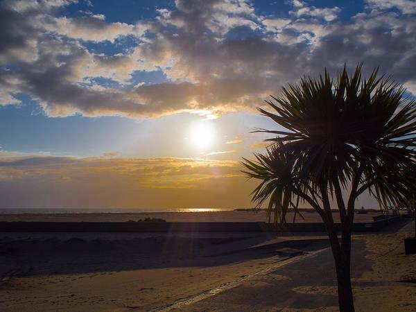 Barmouth Photograph - Barmouth Beach Sunset by Mark Llewellyn