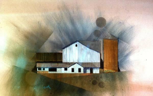 Painting - Barn 1 by William Renzulli