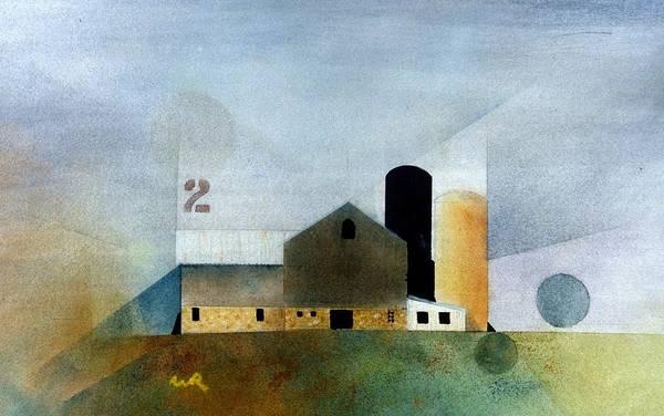 Painting - Barn 2 by William Renzulli