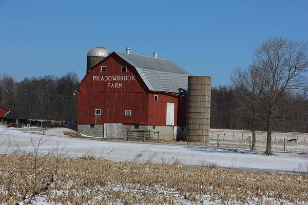 Meadowbrook Photograph - Meadowbrook Farm by Jeff Roney