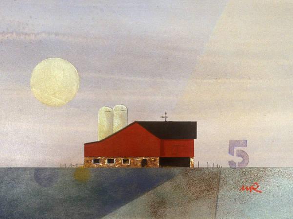 Painting - Barn 5 by William Renzulli