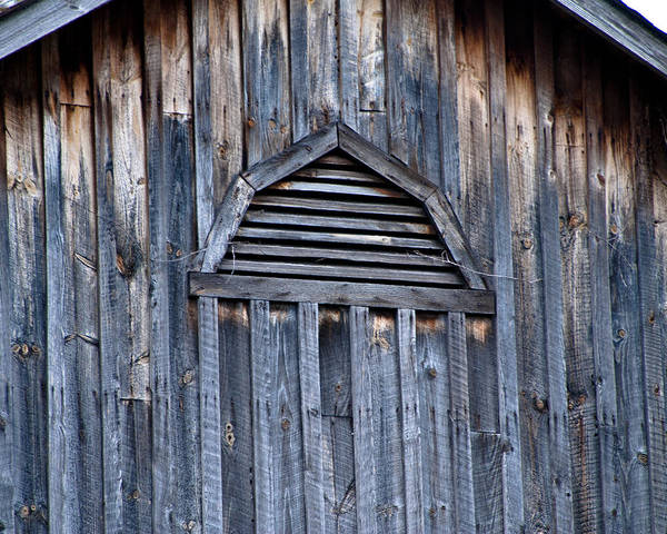 Barn And Batten Art Print by Nickaleen Neff