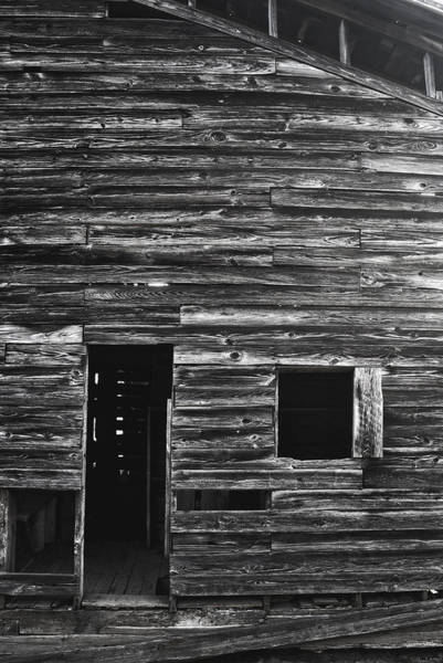 Photograph - Barn Boards by George Taylor