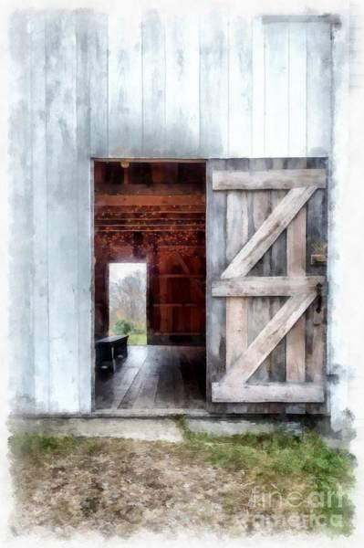 New England Barn Photograph - Barn Dance by Edward Fielding