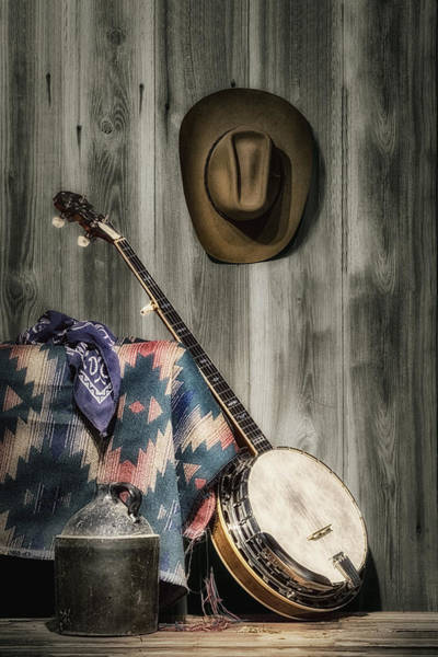 Cowboy Photograph - Barn Dance Hoe Down by Tom Mc Nemar