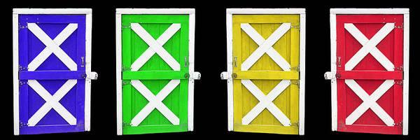 Photograph - Barn Doors by Gunter Nezhoda